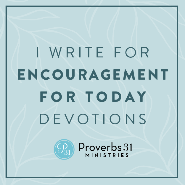 Meredith H Carr writes for Proverbs 31