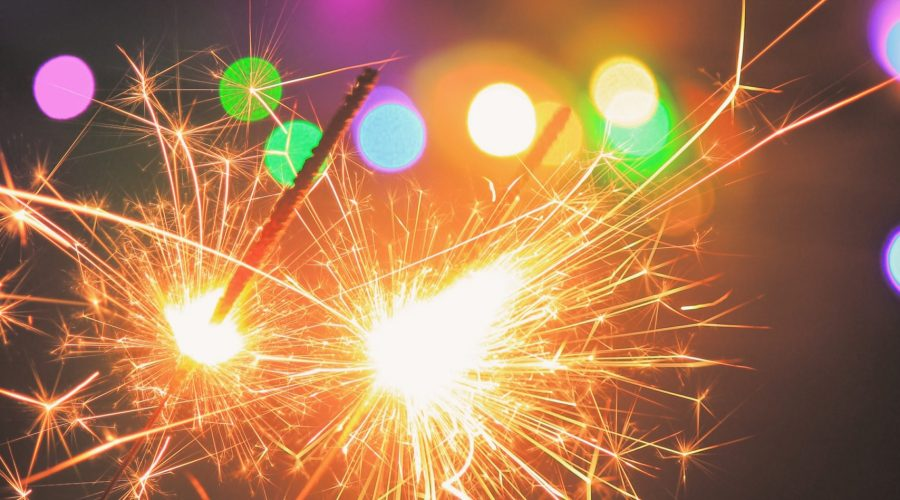 bokeh-photography-of-sparkler-1382177